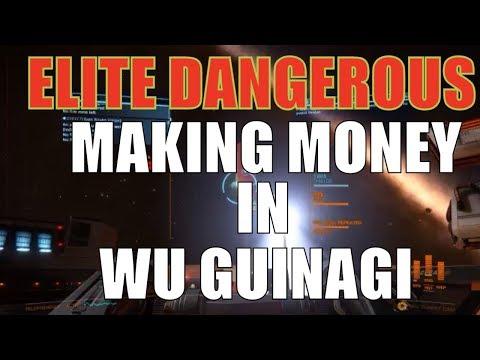 Elite: Dangerous Wu Guinagi System Making Money & imperial