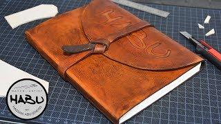 DIY \ Leather SketchBook