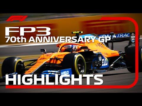 F1 2020 第5戦イギリスGP(70周年記念グランプリ) FP3ハイライト動画