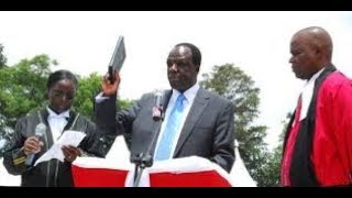 Kakamega County leaders fight over front-row seat during Governor Oparanya's inauguration