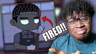 FIRED ON YOUR DAY OFF! | Young Don The Sauce God: Getting Fired From McDonalds Part 1 Reaction!