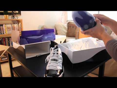 Nike Air Jordan 11 (XI) Retro (2011) Concord Unboxing/Review Mp3