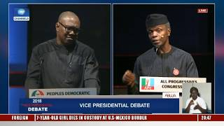 Vice-Presidential Debate Pt.12: Labour Is More Expensive In China Today Than Nigeria - Peter Obi