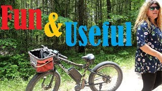 Finding A Camp Spot With My Ebike