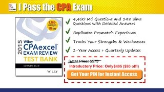 Wiley CPA Test Bank Demo (Updated for 2016)