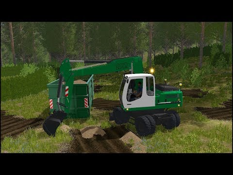 Farming Simulator 17 - Forestry and Farming on The Valley The Old Farm 032