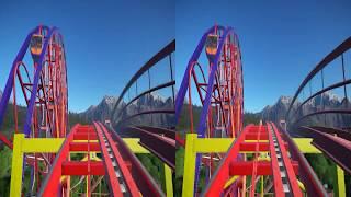 3D-VR VIDEOS 276 SBS Virtual Reality Video google cardboard 2к