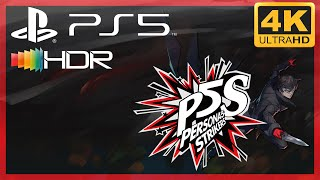 [4K/HDR] Persona 5 Strickers / Playstation 5 Gameplay
