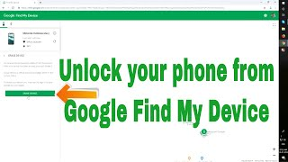 How To Use Google Find My Device || Reset and unlock your Android devices