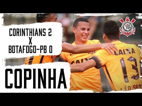 Corinthians 2x0 Botafogo-PB (Copinha) - Melhores momentos