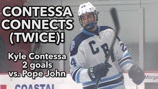 CBA 4 Pope John 1 |  Kyle Contessa 2 goals
