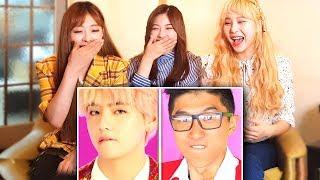K POP IDOLS REACT TO LANKYBOX   BTS IDOL WITH ZERO BUDGET!