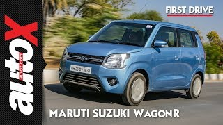 2019 Maruti Suzuki WagonR Review | First Drive | autoX