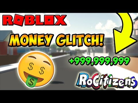 ROBLOX | CRAZY RoCitizens MONEY GLITCH! [WORKING] [NEW] [JULY 2017]
