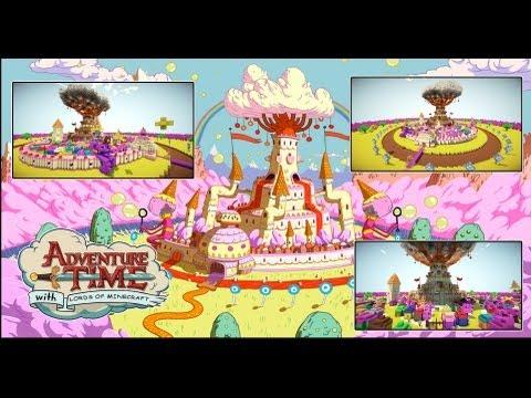 Candy kingdom cake