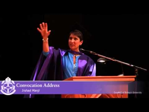 Irshad gives commencement address at Bishop's University (2014)