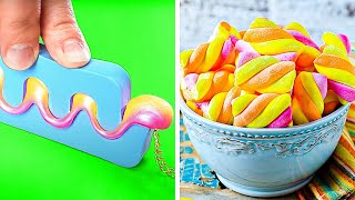 Cool Recipes Everyone Must Try || Candy, Jelly and Marshmallow
