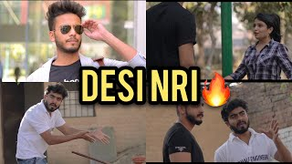 A DAY WITH DESI NRI - | Elvish Yadav |
