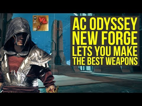 Assassin's Creed Odyssey Fate of Atlantis Episode 3 - NEW FORGE Has Best Weapons (AC Odyssey DLC)