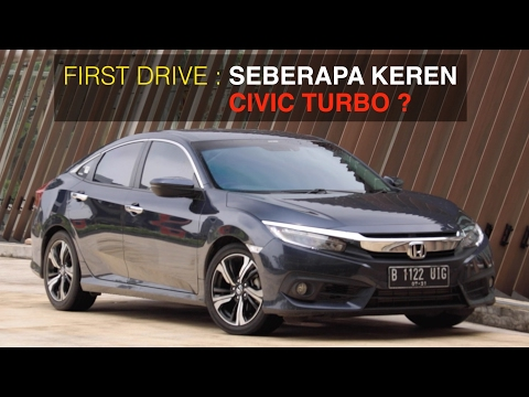 First Drive Honda All New Civic Turbo I OTO.com