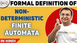 Part 3.1 Formal Definition Of NFA In HINDI   Non Deterministic Finite Automata   TOC   AUTOMATA