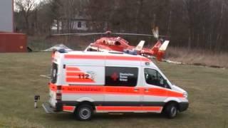 Christoph 47 Bk 117 Fast Landing + Start DHECE Medicopter 117 Helicopter