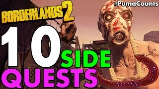 Top 10 Best Side Quests and Side Missions in Borderlands 2 #PumaCounts