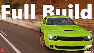 Forza Horizon 4: Dodge Challenger Hellcat | WIDEBODY DRIFT BUILD! 1,000+ HP