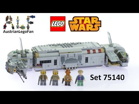Vidéo LEGO Star Wars 75140 : Resistance Troop Transporter