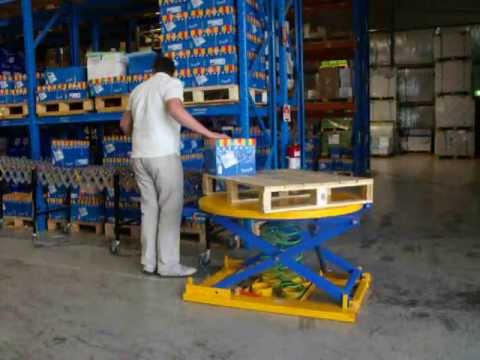 Pal-Evator® Spring Lift Table