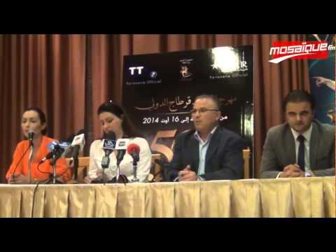 Festival de Carthage 2014: Conférence de presse de Yanni (видео)