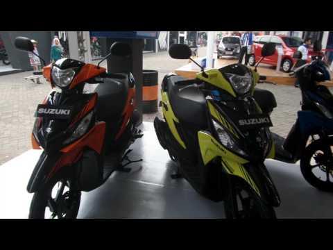 Suzuki Address Playful Di Jakarta Fair