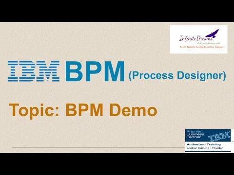 IBM BPM Tutorials : IBM BPM Overview Unit 01 Demo @Infinite ...