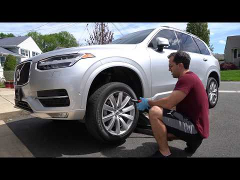 Volvo XC90 Wheels Upgrade: 19 inch Momentum to 21 inch Inscription