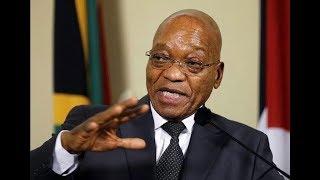 Zuma resigns as S.Africa President - PHOTOS & VIDEO