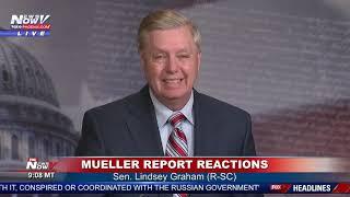 BREAKING: Lindsey Graham DEMANDS Democrat Investigations After Mueller Report