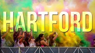 preview picture of video 'Run or Dye Hartford 2013'