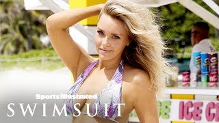 Former Patriots' Cheerleader Camille Kostek Talks Living Her Dreams | Sports Illustrated Swimsuit