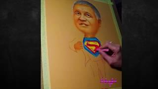 Портрет шарж на заказ - видео 1