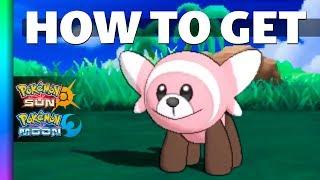Stufful  - (Pokémon) - HOW TO GET Stufful in Pokemon Sun and Moon