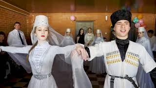Адыгэ Джэгу. Встреча невесты аул Понежукай, Адыгея 2018. Адыгейская свадьба.
