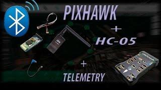 Pixhawk Bluetooth HC05 + Telemetría wireless 3DR