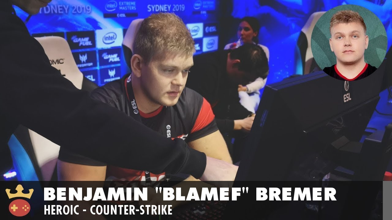 Video of Interview with Heroic's blameF at IEM Sydney 2019