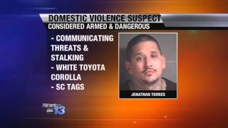 Domestic Violence Suspect Considered Armed, Dang