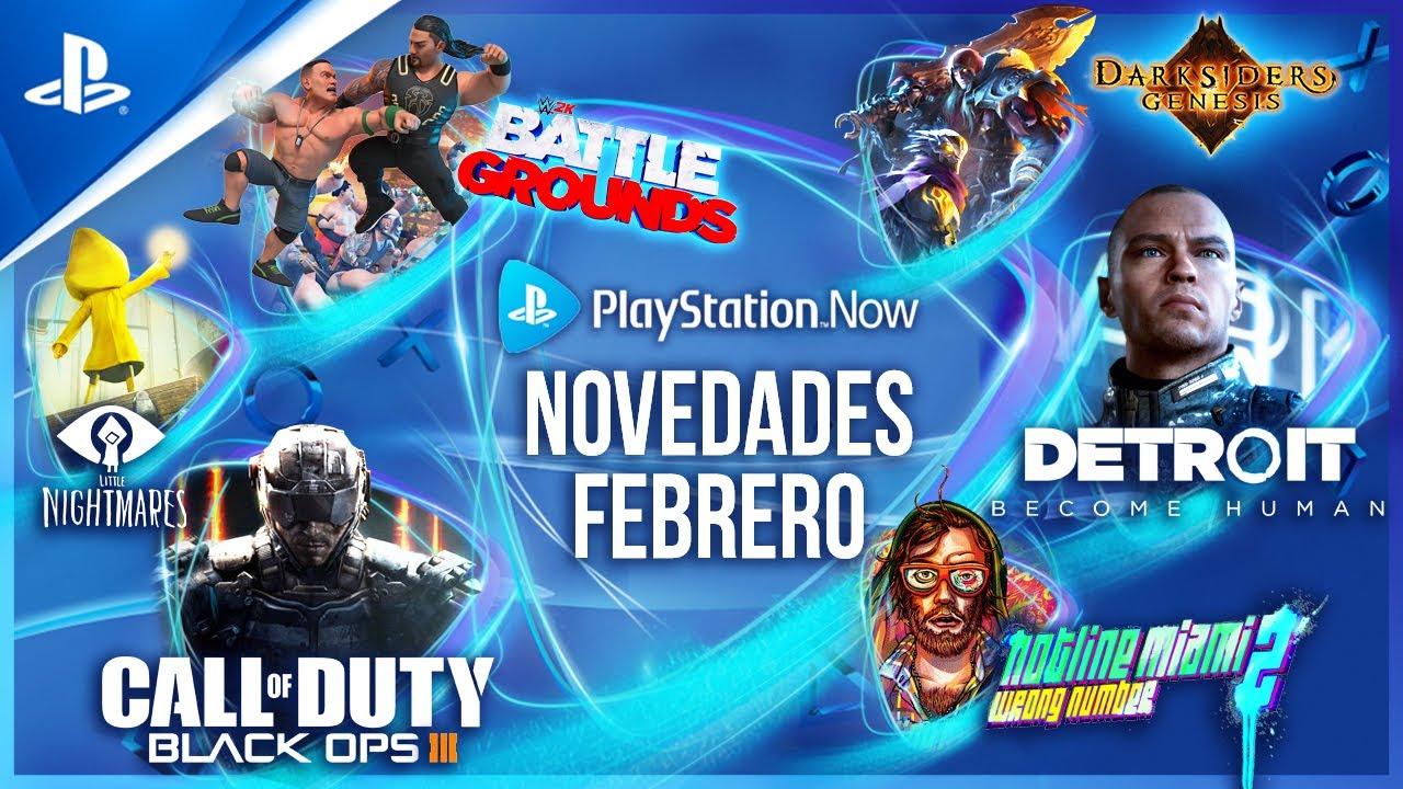 Call of Duty: Black Ops III, Detroit: Become Human y WWE 2K Battlegrounds encabezan las novedades de PlayStation Now en febrero
