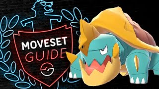 Drednaw  - (Pokémon) - How to use DREDNAW! Drednaw Moveset Guide! Pokemon Sword and Shield! ⚔️🛡️