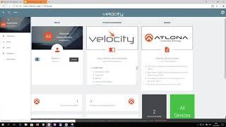 Видео по системе управления Velocity