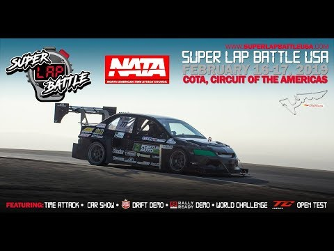 LIVE Super Lap Battle Circuit of the Americas 2019 Day 1! (видео)