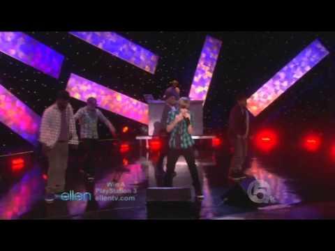 [HD] Justin Bieber - One Time (Live At Ellen Show)