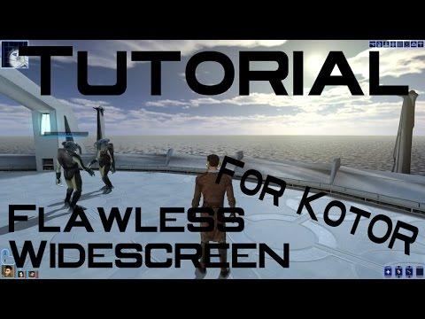 [Tutorial] Flawless Widescreen: KotOR and TSL